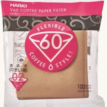 HARIO V60-02 BROWN 100-PACK